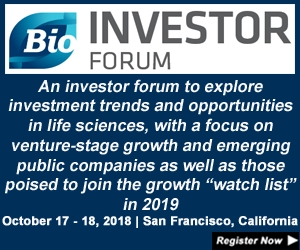 BIO Investor Forum 2018 - An international biotech investor conference