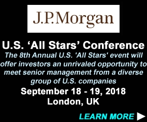 J.P. Morgan 8th Annual U.S.